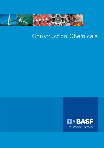 Construction Chemicals Brochure