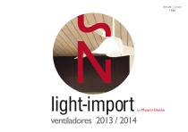 light-import ventiladores 2013 / 2014