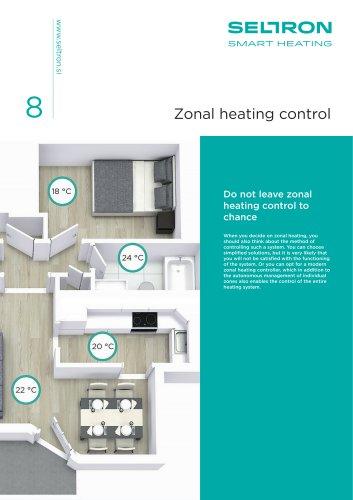Zonal heating control