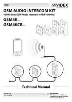 GSM AUDIO INTERCOM KIT 4000 Series GSM Audio Intercom with Proximity