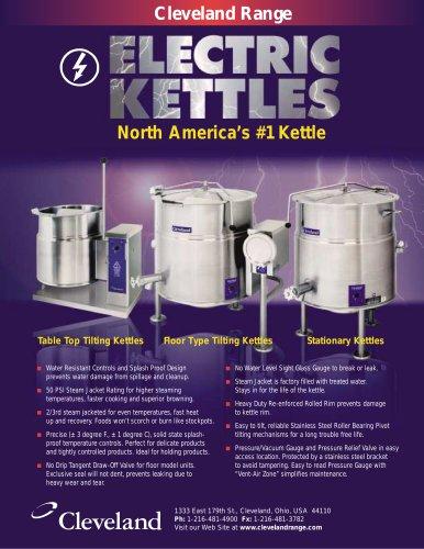 Cleveland Range electric kettles