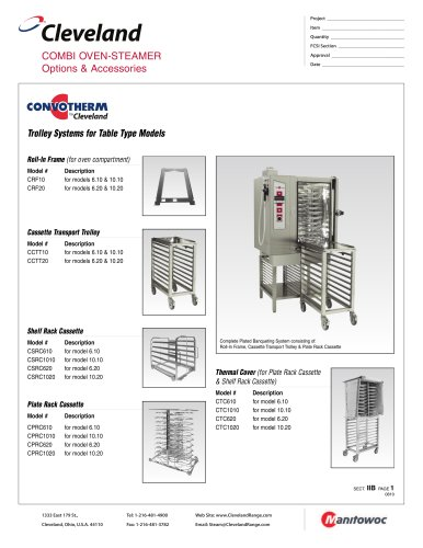 COMBI OVEN-STEAMER Pages 1/2