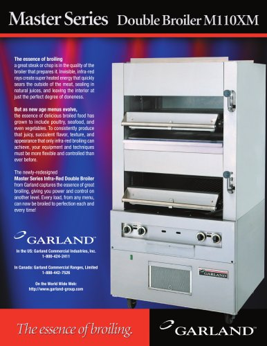 Master Series Double Broiler Ml 10XM