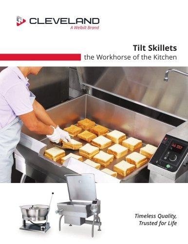 Tilt Skillets the Workhorse of the Kitchen
