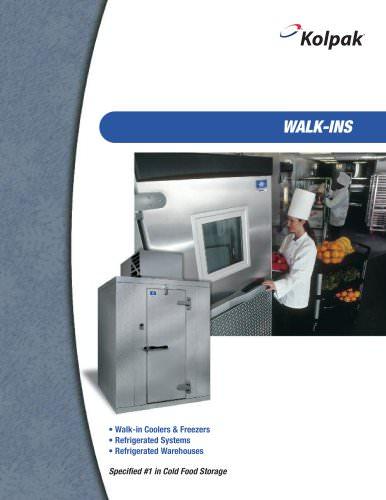 Walk-in Coolers & Freezers
