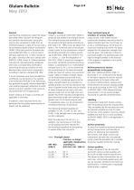 Glulam Bulletin 2012 - 2