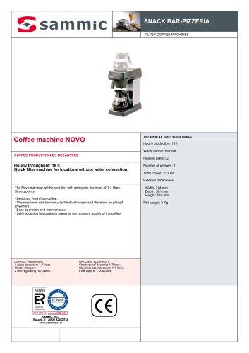 Coffee machine NOVO