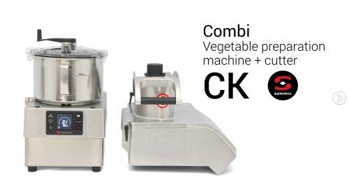 Combi Vegetable preparation machine + cutter