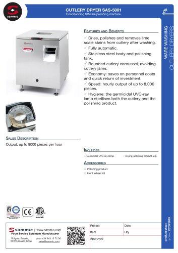 CUTLERY DRYER SAS-5001