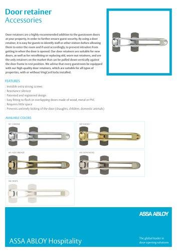 Door retainer