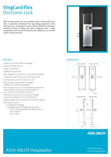 VingCard Flex Electronic Lock