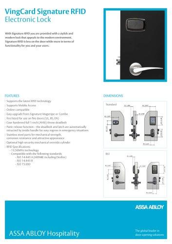 VingCard Signature RFID - ASSA ABLOY Hospitality (Formerly
