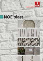 NOEplast Formliner – designed Concrete