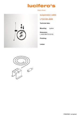 File H Suspension cable LT2410H.4000