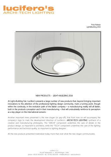 News 2016 Light&Building