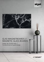 SIGEL Artverum Magnetic Glass Boards Design