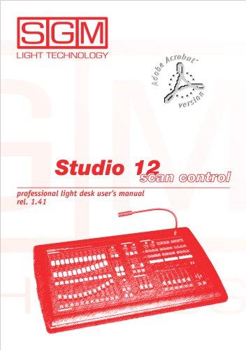 Studio 12 scan control