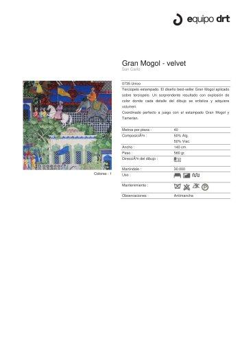 Gran Mogol - velvet