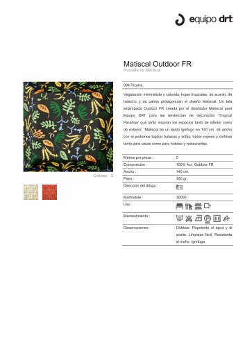 Matiscal Outdoor FR