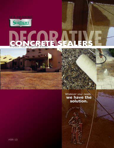 Decorative Concrete Sealers Brochure