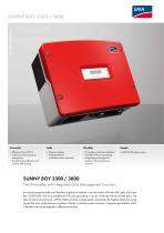 SUNNY BOY 3300 / 3800