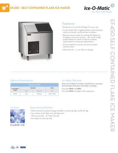 EF450-Self-Contained Flake Ice Maker