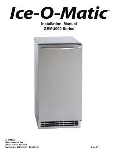 GEMU090 Pearl Self Contained Ice Machine