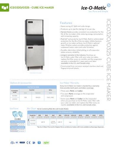 ICE0320-Modular Cube Ice Machine