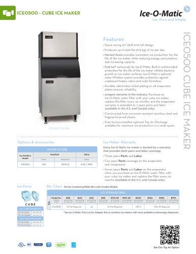 ICE0500-Modular Cube Ice Machine