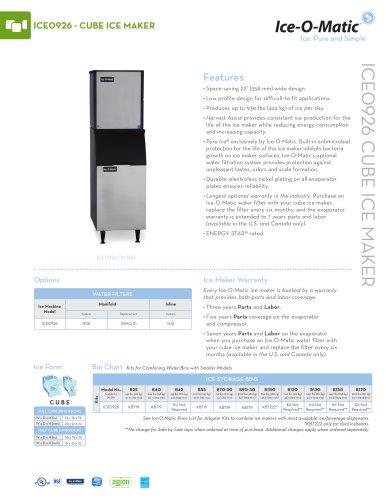 ICE0926-Modular Cube Ice Machine