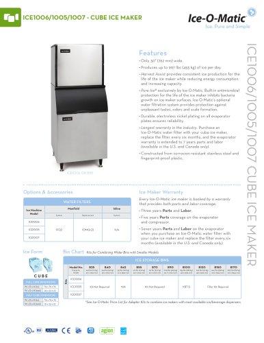 ICE1000-Modular Cube Ice Machine