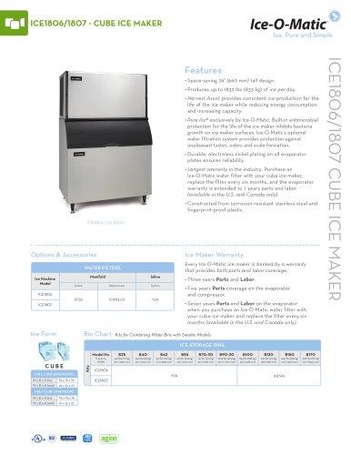 ICE1800-Modular Cube Ice Machine
