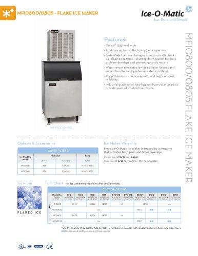MFI0800/805-Flake Ice Maker