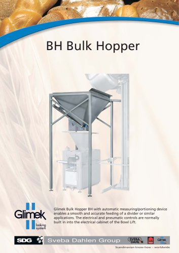 Glimek BH Bulk Hopper