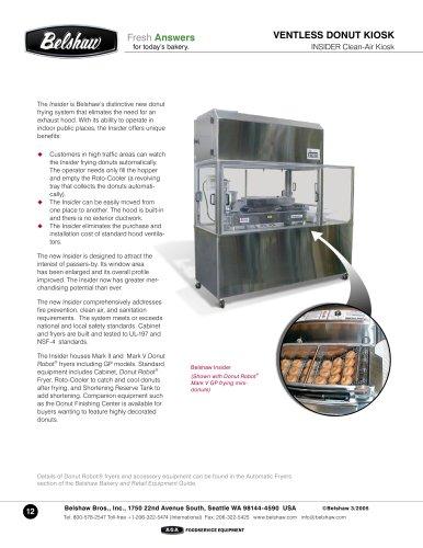 Insider Clean-Air Ventless Kiosk