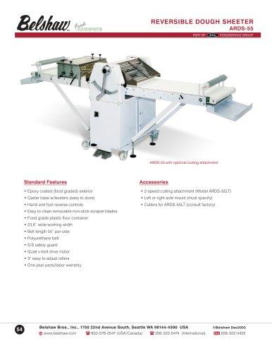 Reversible dogh sheeter