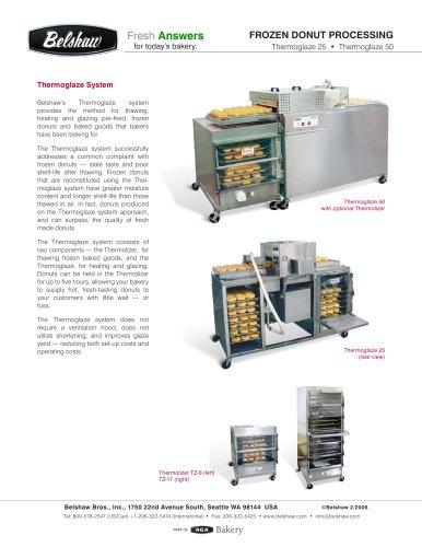 Thermoglaze Pre-fried Donut Processing