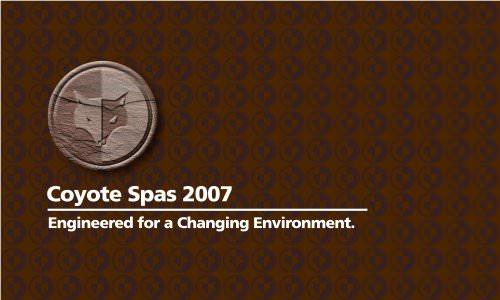 Coyote Spas 2007