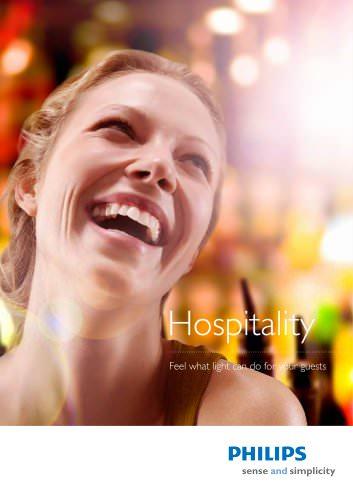 Hospitality brochure