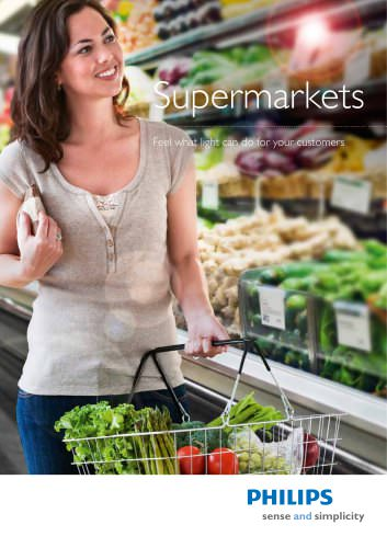 Supermarket brochure