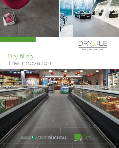 Dry tiling