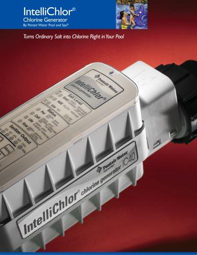 IntelliChlor Salt Chlorinator