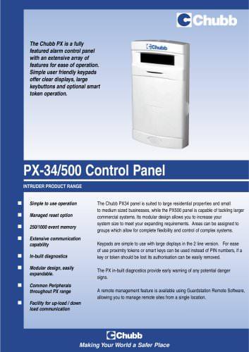Chubb PX - Control Unit