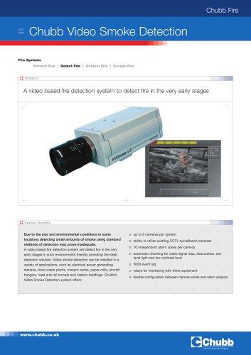 Chubb Video Smoke Detection