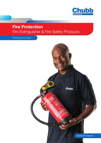 Fire Protection Fire Extinguisher & Fire Safety Products