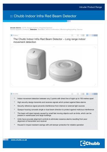 Indoor Infra Red Beam Detector