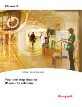 Your one stop shop for IP security solutions