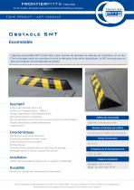 Obstacle escamotable SMT