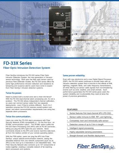 FD-33x brochure