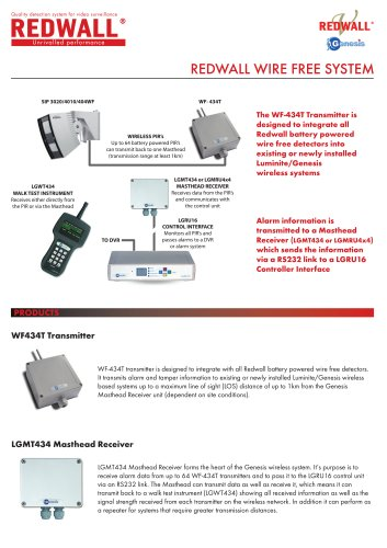 Redwall Wirefree System